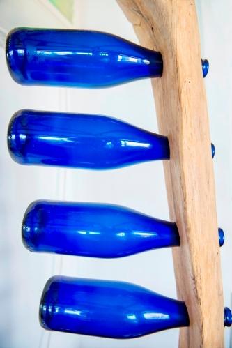 5 Blue Bottles
