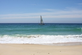 Sailing off the Coast of Comporta