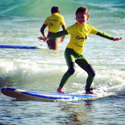 Learning to Surf in Comporta