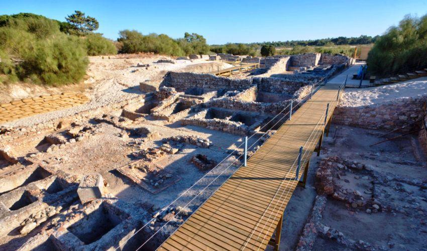 Fish-Salting Troia Roman Ruins